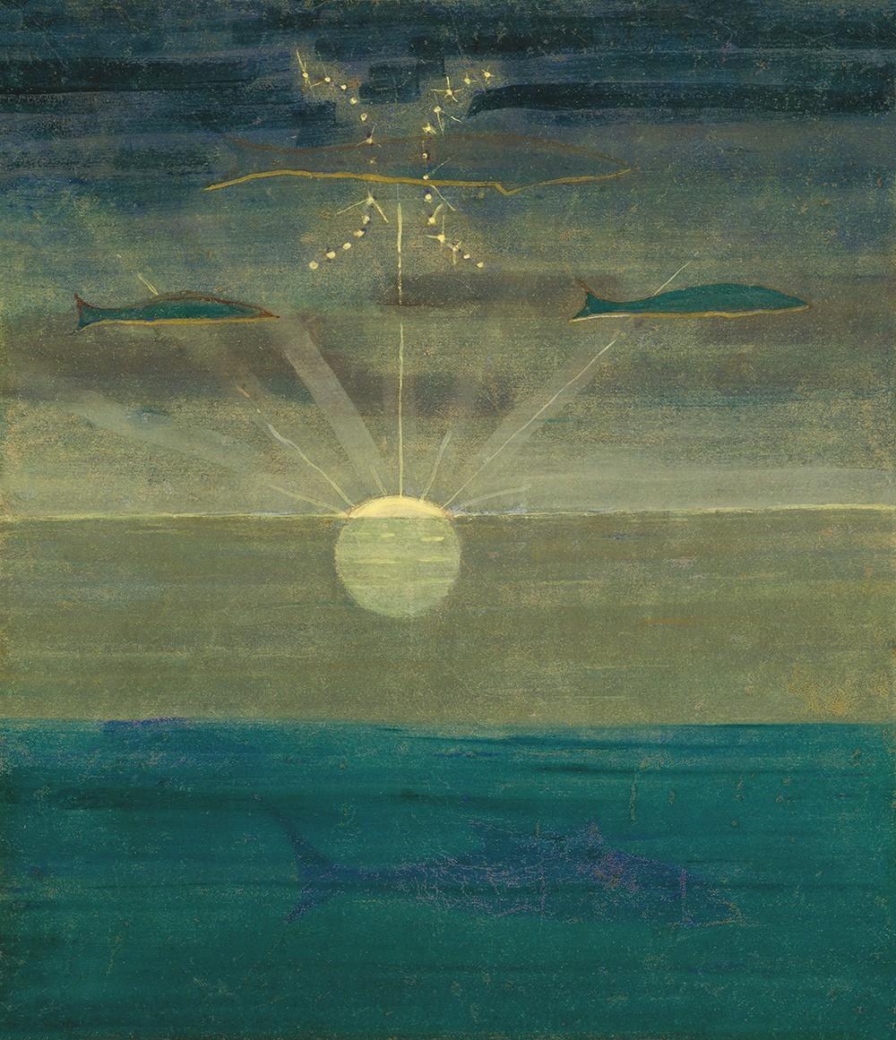 """Saulė eina Žuvų ženklu iš ciklo """"Zodiakas"""""""