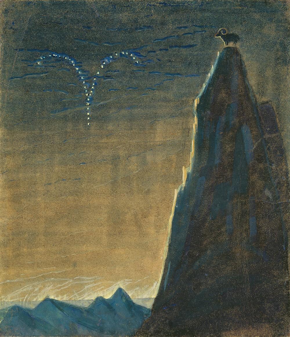 """Saulė eina Avino ženklu iš ciklo """"Zodiakas"""""""