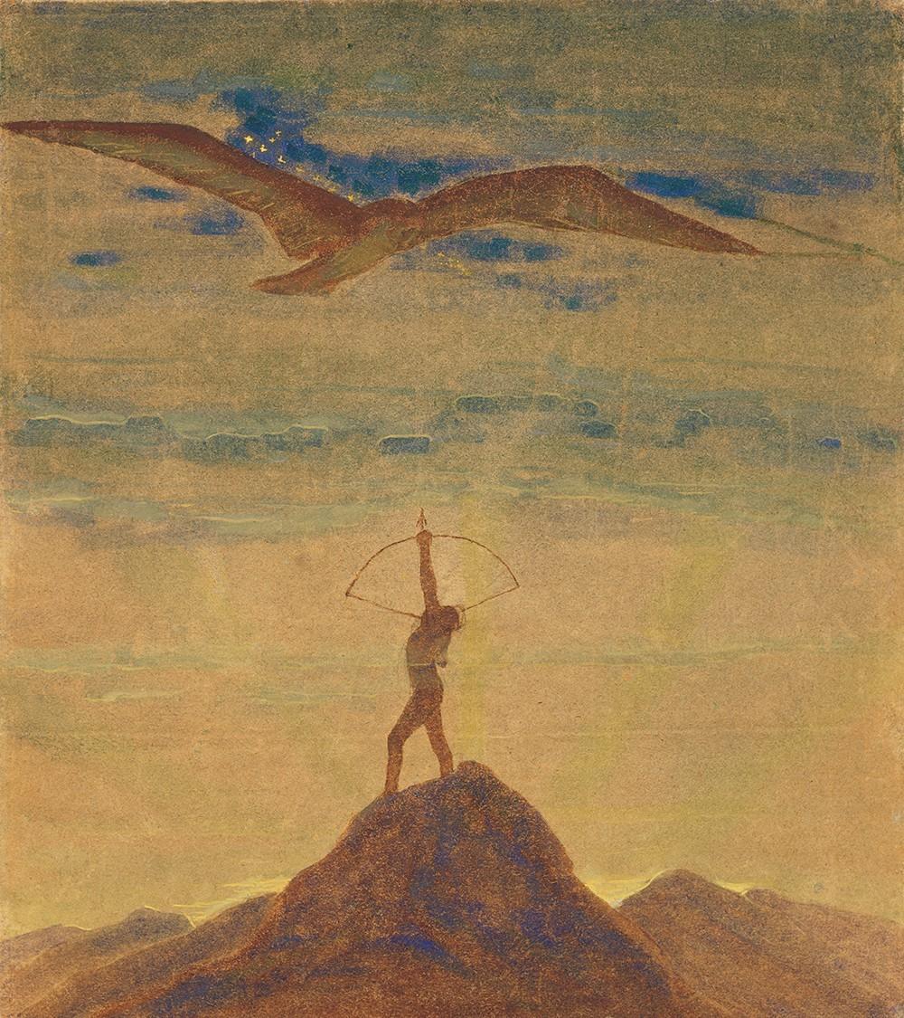 """Saulė eina Šaulio ženklu iš ciklo """"Zodiakas"""""""