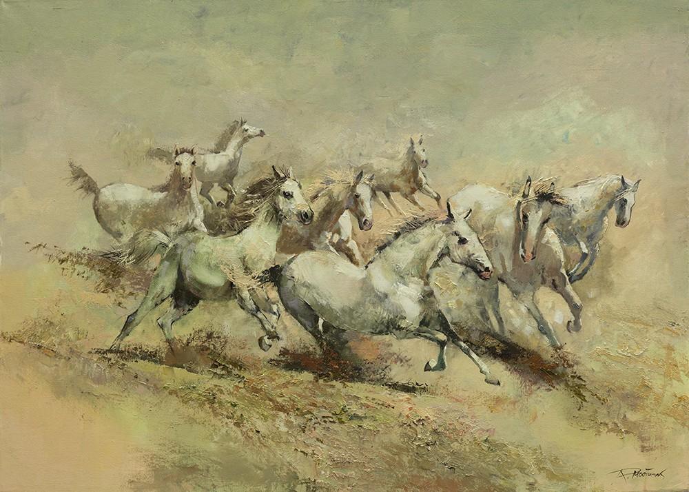 Balti žirgai