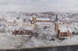 Kai žiema sukausto miestą