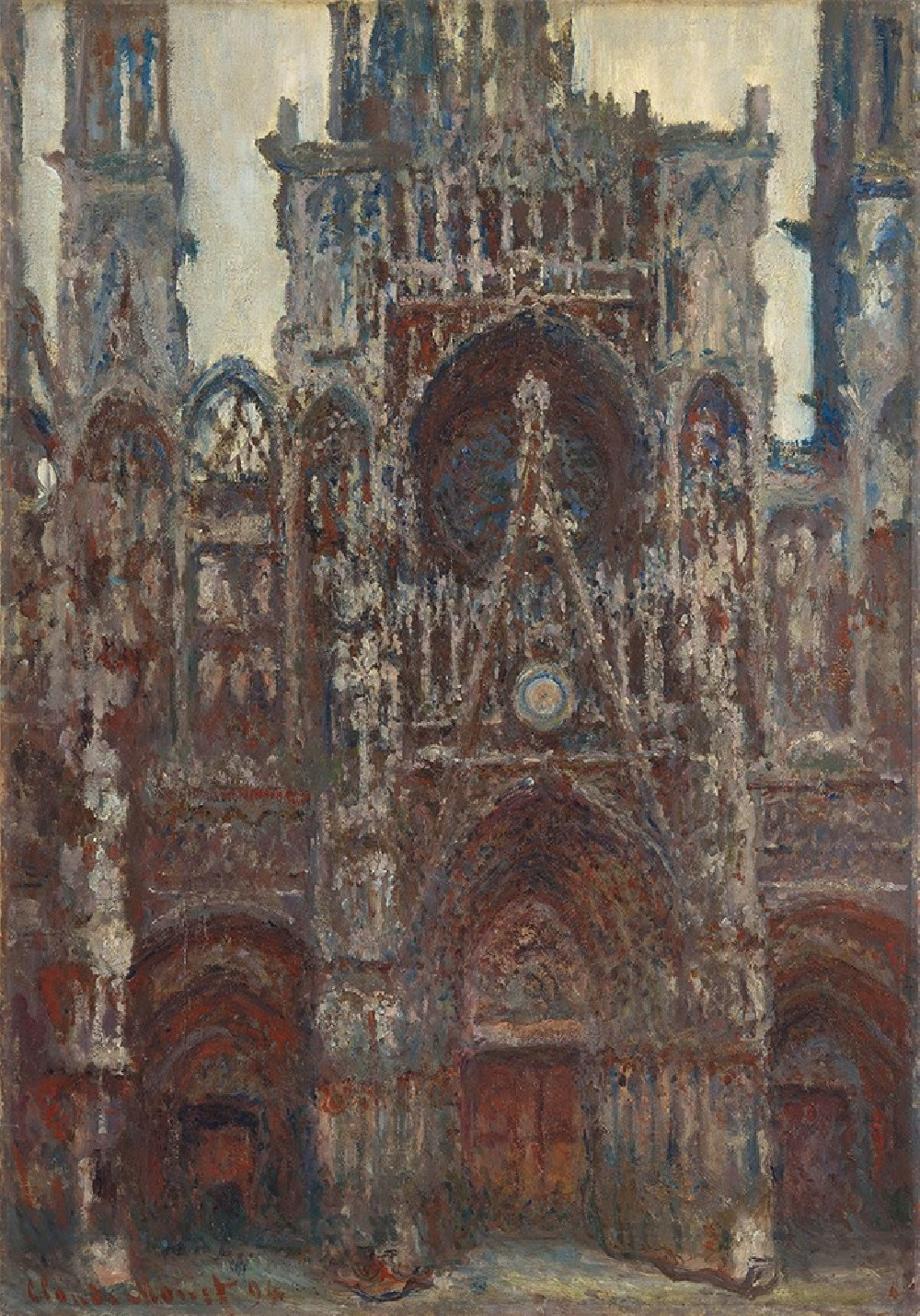 Rouen Cathedral, The Portal, Harmony in Brown