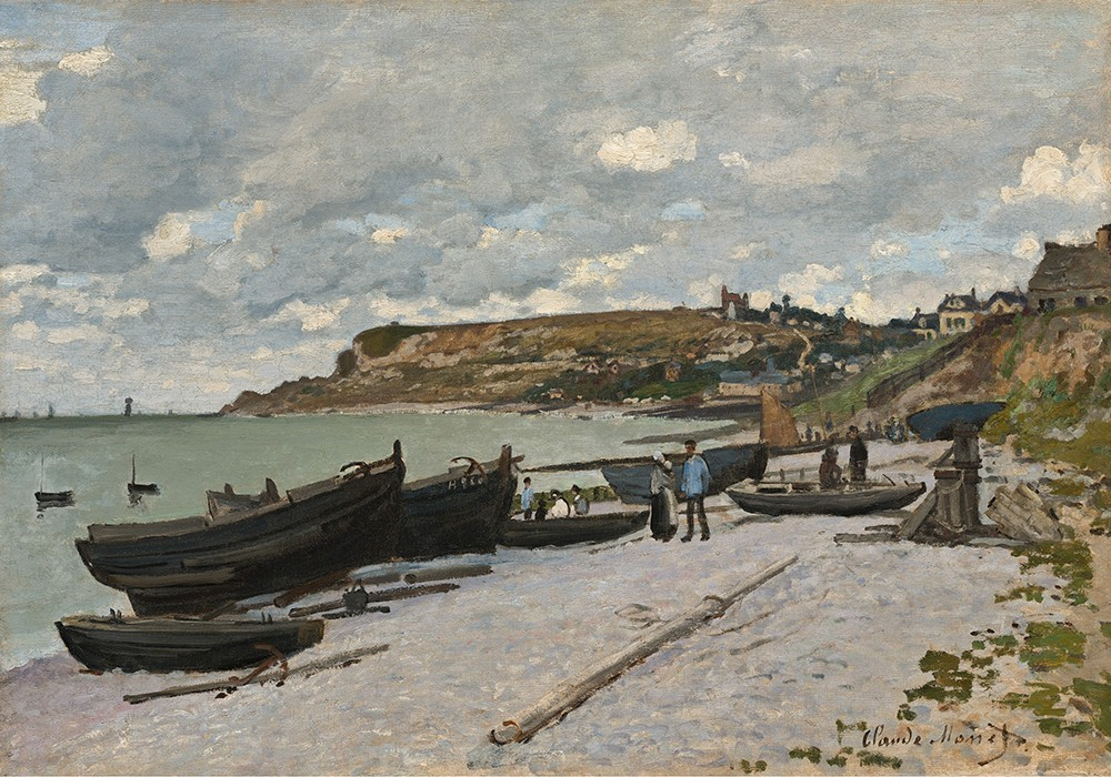 Saint-Adresse, Fishing Boats on the Shore