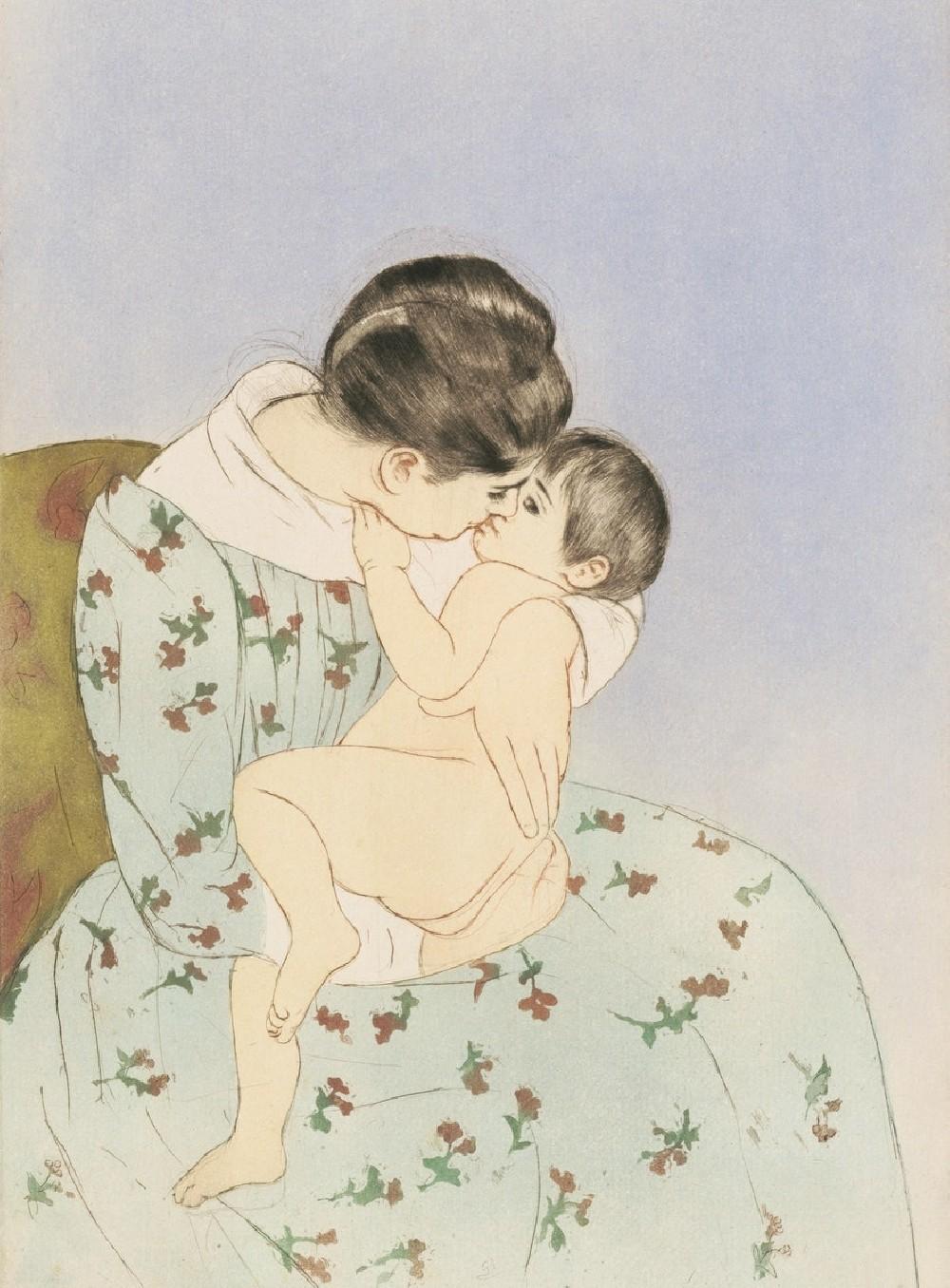Mother's Kiss illustration